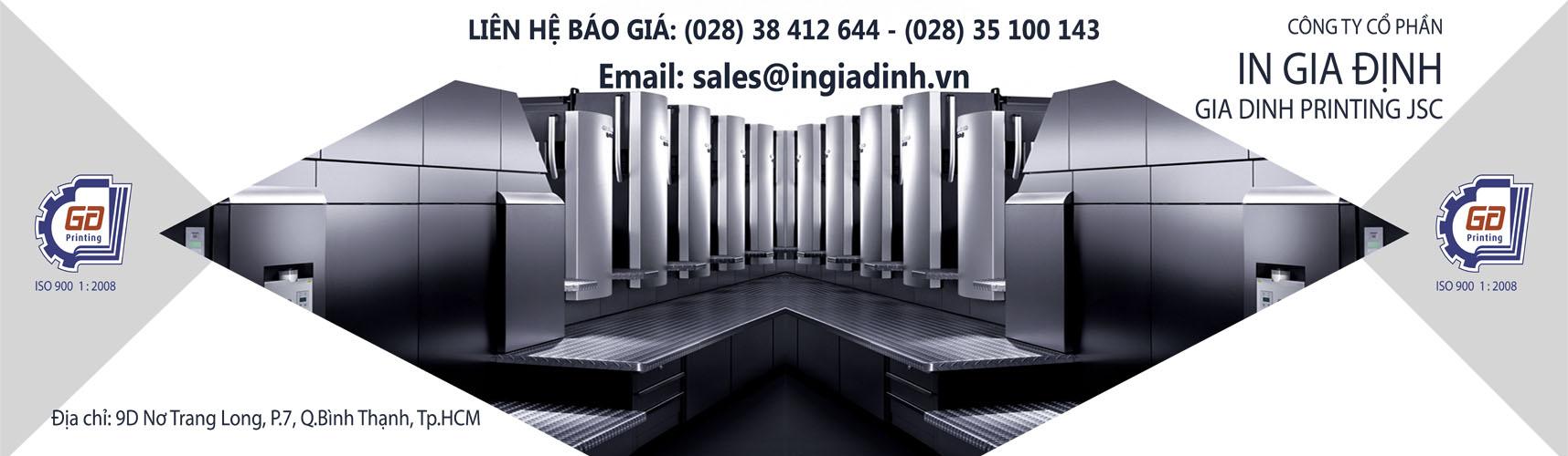 Công Ty In Ấn Gia Định Việt Nam